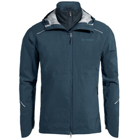 VAUDE Yaras 3in1 Jacket Men steelblue